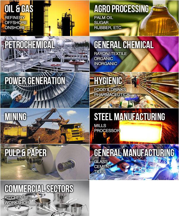 industrial application | PT Angkasa